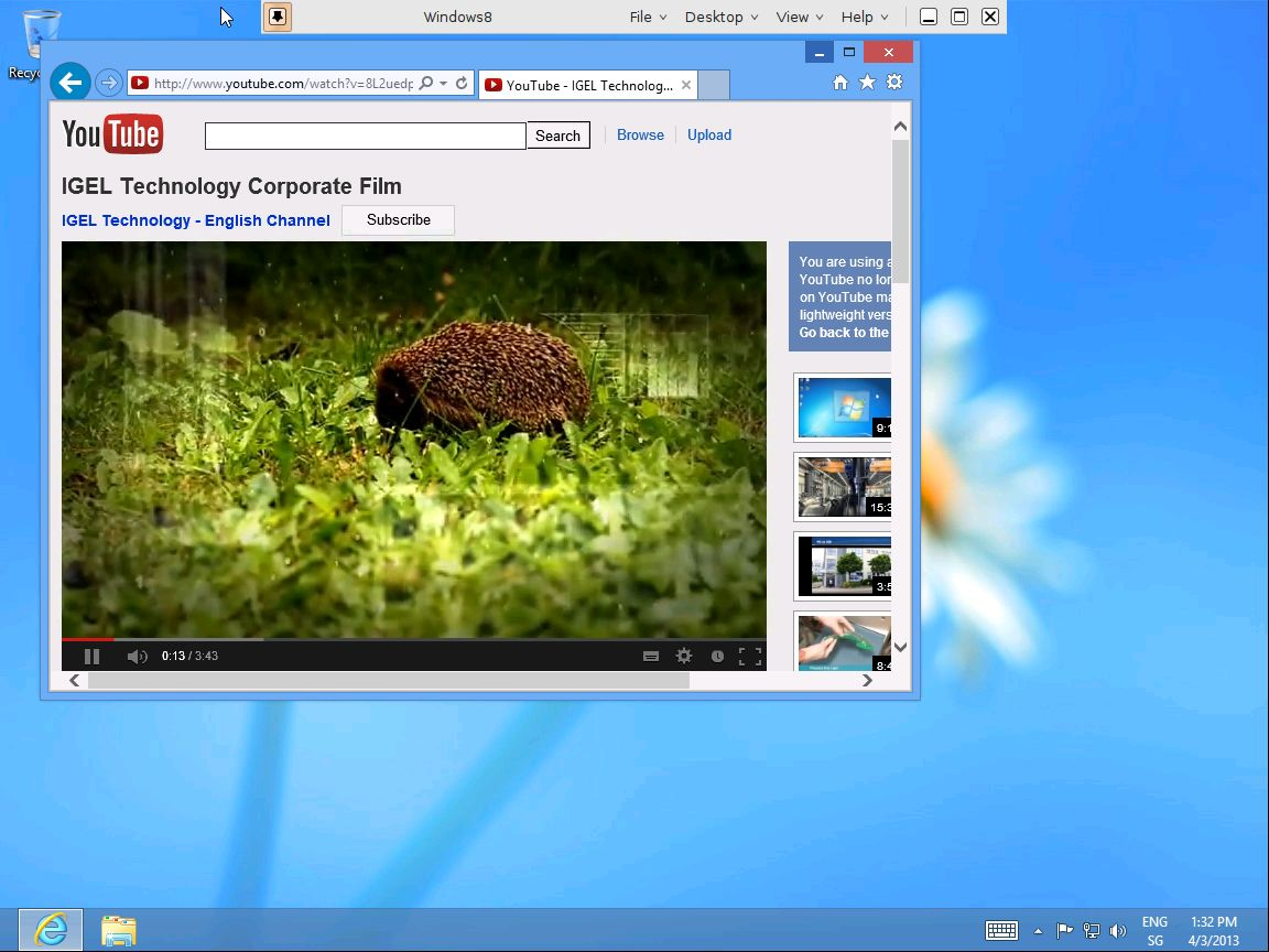 Using IGEL Linux based Thin Clients with VMWare Horizon View 5 2