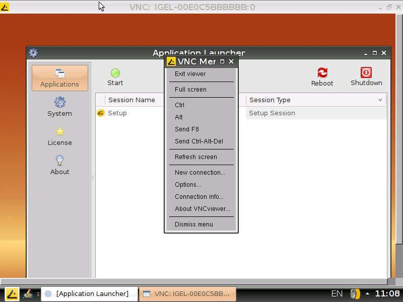 Solution: cloud-client info custom xvnc4viewer add-on for