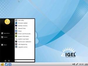 IGEL Linux V5: New Linux Desktop look