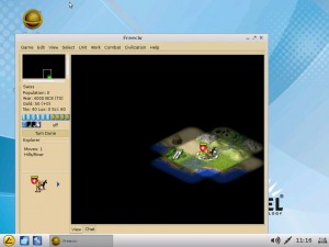 Fun: FreeCiv for the IGEL Linux