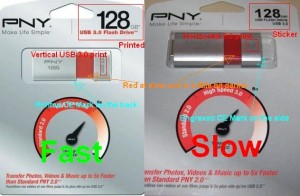 128 GB PNY Wave Attache, same but different