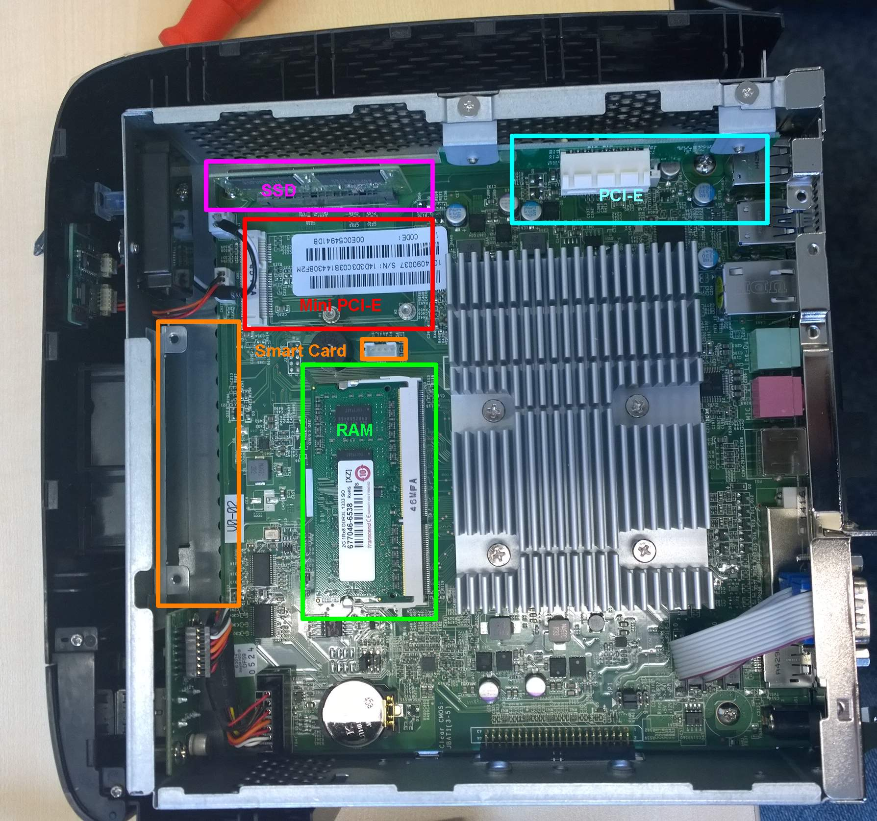 UD5/UD6 Mainboard